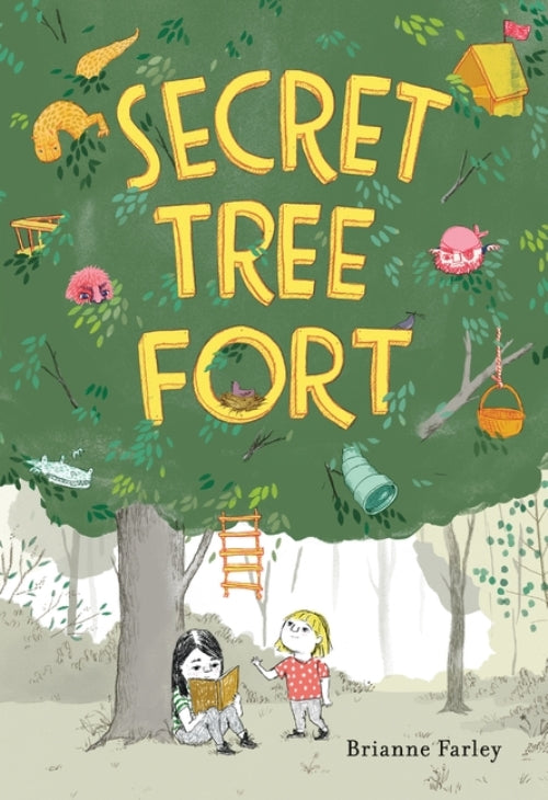 Secret Tree Fort Brianne Farley Walker Books Books