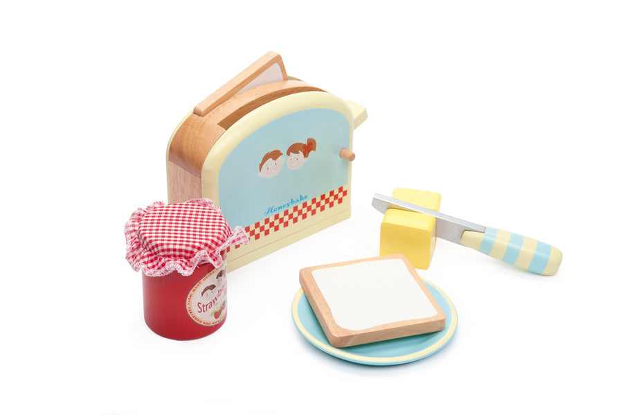Toaster Set Le Toy Van Pretend Play