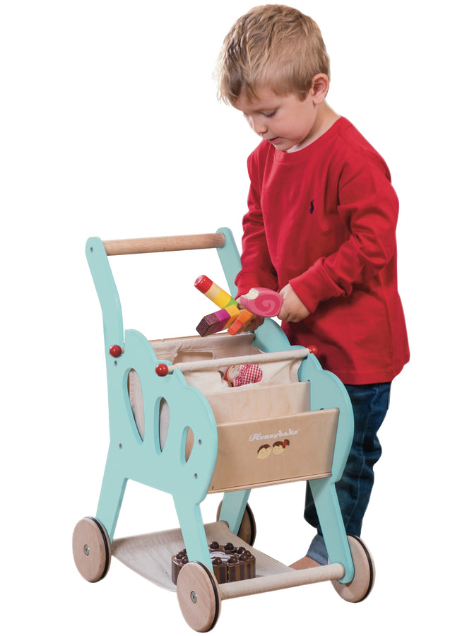 Shopping Trolley Le Toy Van Pretend Play
