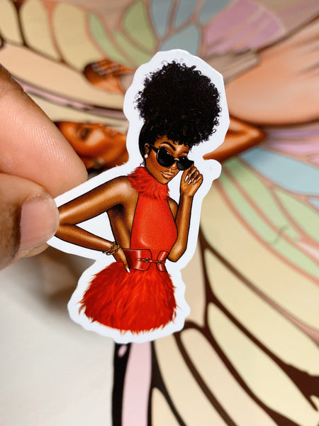 Sade Sticker trio