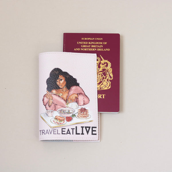 Sana (Travel Eat Live) Passport cover