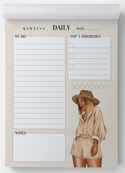 Dria Daily notepad