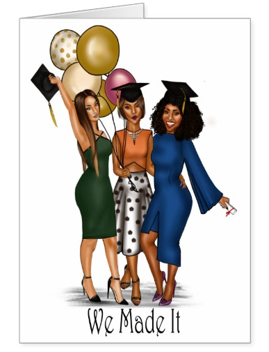 Squad Graduation Card