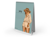 2021 Desk Calendar (In the Nude)