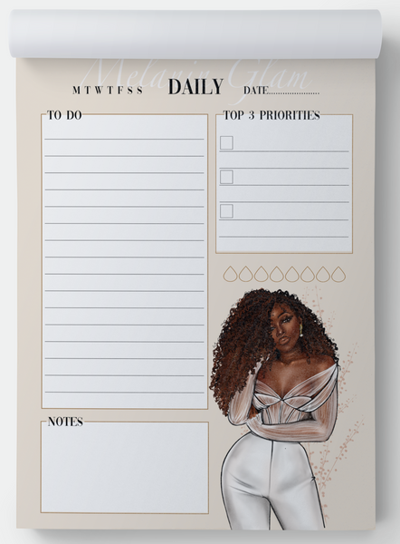 Yara Daily notepad