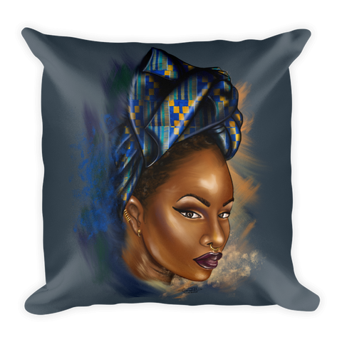 Asantewaa Square Pillow