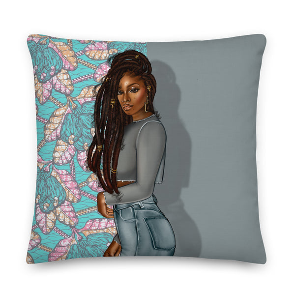 Goddess Locs Pillow