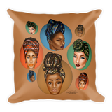 Araba Square Pillow