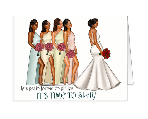 Alexis (Bridesmaids) Request Card