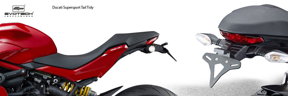 Evotech Ducati Supersport Tail Tidy Fender Eliminator Motorcycle Accessories