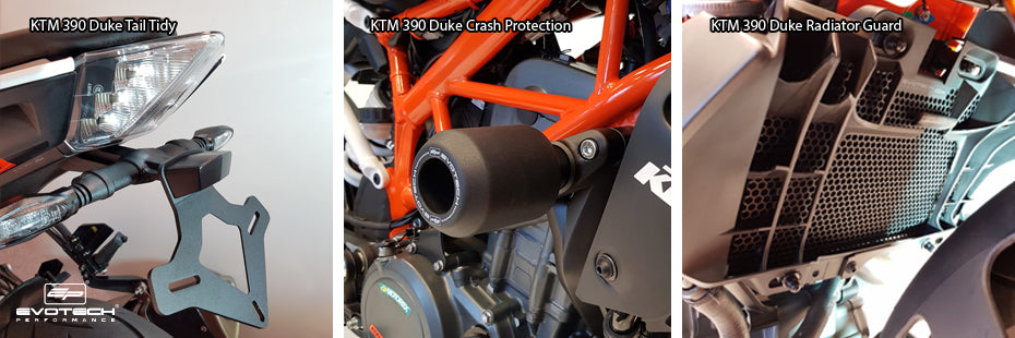 Evotech KTM 390 Duke 2017 Motorcycle Accessories Tail T