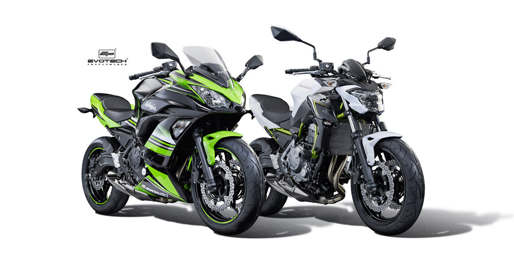 Kawasaki Z650 & Ninja 650 - Evotech Performance 2017 Product Launch