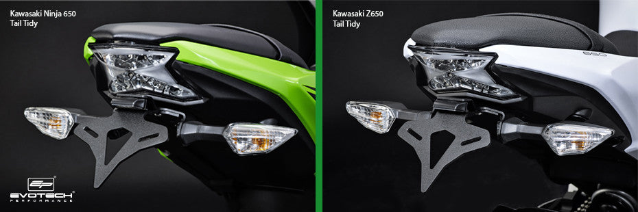 Evotech Kawasaki Ninja 650 Z650 Tail Tidy Motorcycle Accessories