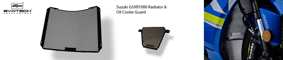 Suzuki GSX-R1000 2017 Radiator Oil Cooler Guard Motorcycle Accessories