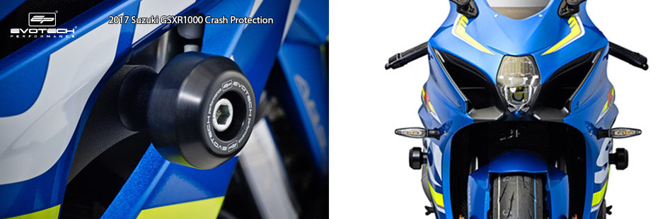 Suzuki GSX-R1000 2017 Crash Protection Protectors Sliders Motorcycle Accessories