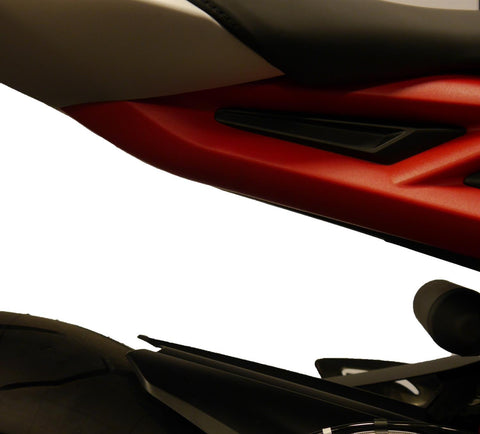 EP Triumph Street Triple RX Footrest Blanking Plates 2015 - 2016