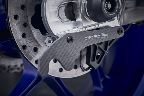 EP Yamaha YZF-R1M Carbon Fibre GP Style Paddock Stand Plates 2015 - 2019