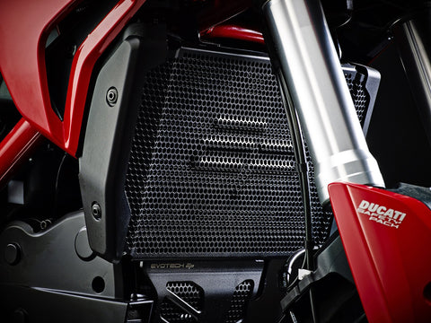 EP Ducati Hypermotard 821 SP Radiator And Engine Guard Set 2013 - 2015