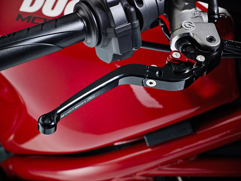 EP Ducati Monster 1200 Folding Clutch and Brake Lever set 2013 - 2016