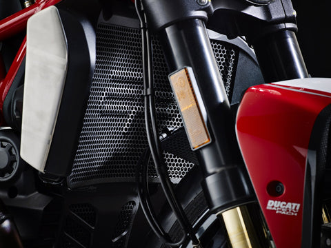 EP Ducati Monster 1200 Radiator Oil Cooler and Engine Guard set 2013+