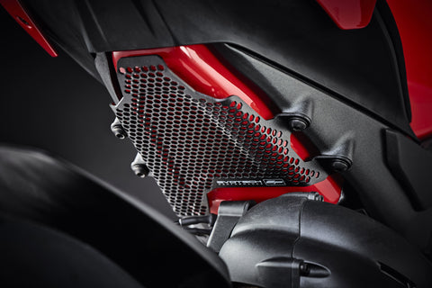 Footrest Blanking Plates Ducati Panigale V4 Speciale Evotech