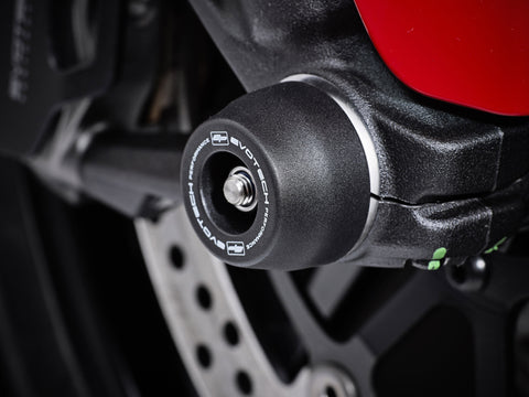 EP Ducati Monster 821 Stripe Front Fork Spindle Bobbins 2016 - 2017