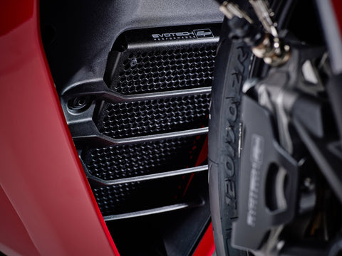 EP Ducati SuperSport S Radiator Guard And Oil Cooler Guard Set 2017+