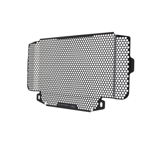 Front facing view of EP Radiator Guard for Honda CB500X on white background