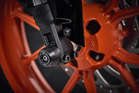 EP Front Spindle Bobbins - KTM 390 Duke (2017+)