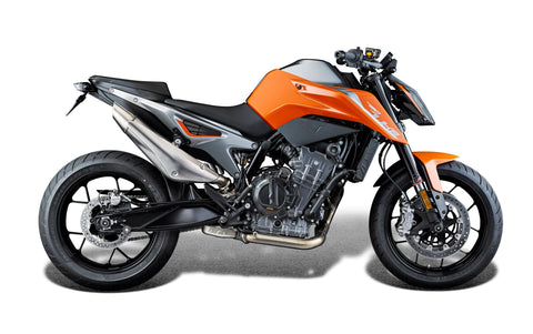 EP KTM 790 Duke Tail Tidy 2018+ (Clear Rear Light)