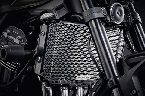 EP Kawasaki Z900RS Cafe Radiator Guard 2018+ (Stainless Steel)