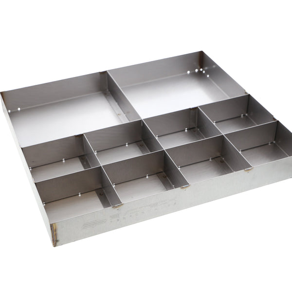 EP Stainless Steel Part Tray