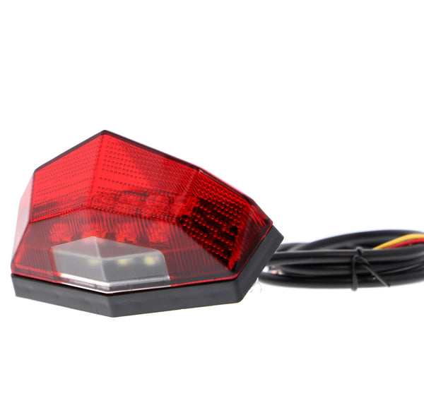 EP Combination Rear Light / Number Plate Light (Red)