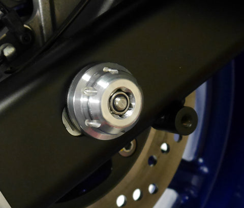 EP Rear Spindle Bobbins - Suzuki SV650 (2016+)