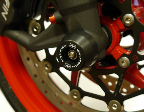 EP Front Spindle Bobbins - Triumph Street Triple RS (2017+)