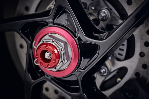 EP Rear Spindle Bobbins - Triumph Speed Triple (2016-2017)