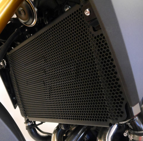 MT-09 Tracer//Radiator Guard. 2015 to 2019 Evotech Performance Yamaha Tracer 900 ABS//Tracer 900 GT//FJ-09 PRN012204