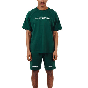 DV Oversized T-shirt & Shorts - Green