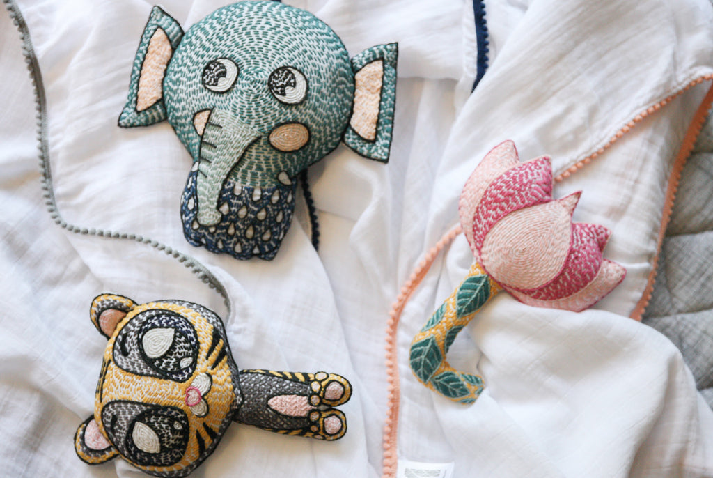 Introducing Malabar Baby's New Whimsical Character Soft Toy Rattles!