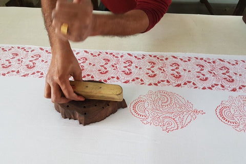 Malabar Baby: Block printing the Pink City collection