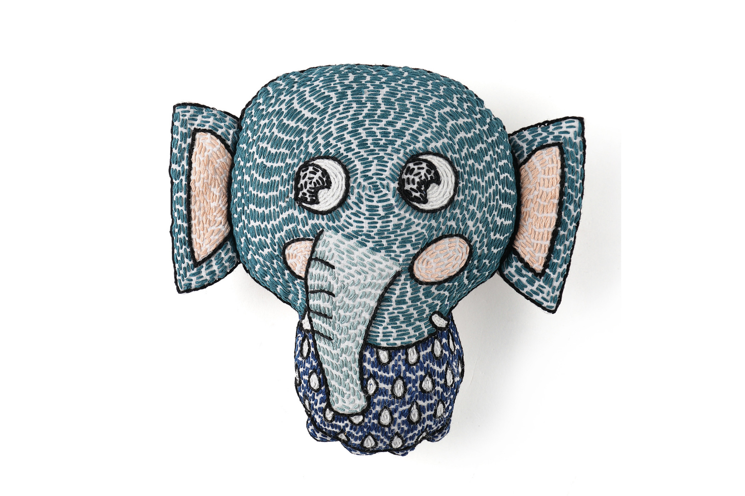 Malabar Baby Soft Rattles: Elli the Elephant