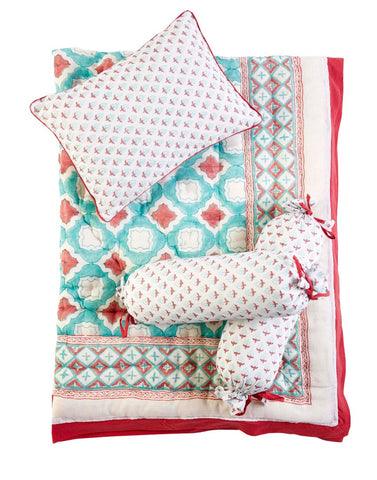 Malabar Baby | Crib Bedding Set (4-Piece) | Miami
