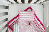 CAIRO PINK CRIB BEDDING SET (4-Piece)