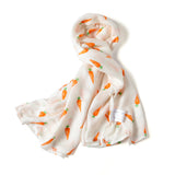 SILKY BAMBOO SWADDLE - CARROT (Limited Edition)