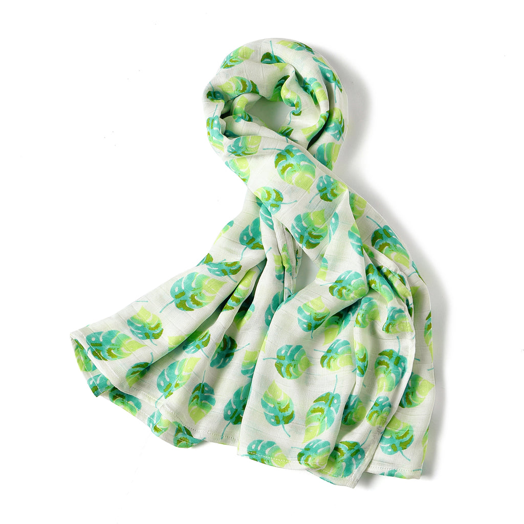 SILKY BAMBOO SWADDLE - LEAF (Limited Edition)
