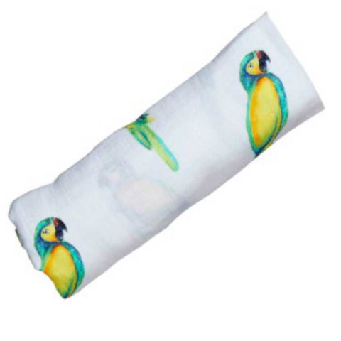 ORGANIC SWADDLE - PARROT