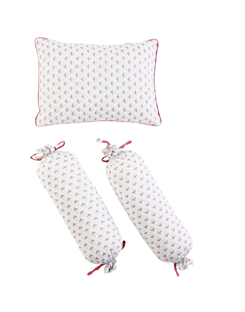 MIAMI PILLOW & BOLSTER SET