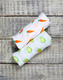 ORGANIC SWADDLE SET- FIRST FOODS