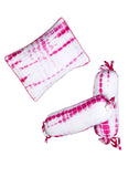 KYOTO PINK PILLOW & BOLSTER SET
