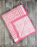SOUTHSIDE PINK COTTON QUILT